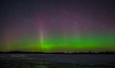 The Northern Lights last Tuesday evening here in Southern Ontario...