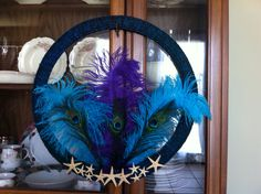 peacock wreath I made