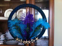 peacock wreath I made