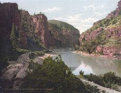 Echo Cliffs, Grand [now, Colorado] River Canyon, Colorado