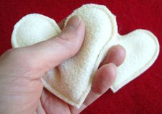 Hand warmers, cute, cheap gift idea