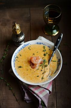 Soup Series: Shrimp Bisque and a Holiday Flashback - Verses from my Kitchen