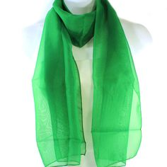 EMERALD GREEN CHAPTER SCARF for LINKS