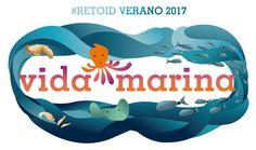 """Reto de Dibujo Diario Verano 2017 """"Vida Marina"""""""