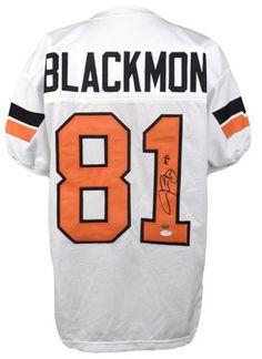 0228ff80757 Justin Blackmon Signed Oklahoma State Cowboys Jersey - JSA - Sports  Memorabilia