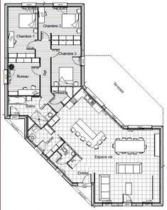 Surréaliste Les 40+ meilleures images de Plans maisons | plan maison, maison CY-39