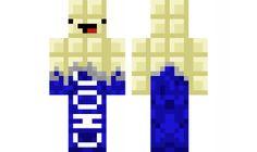 Minecraft White Chocolate Skin
