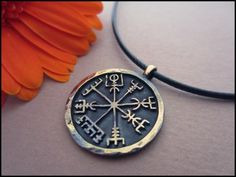 Ancient Vegvisir Pendant - The Viking Compass by BaldurJewelry on DeviantArt