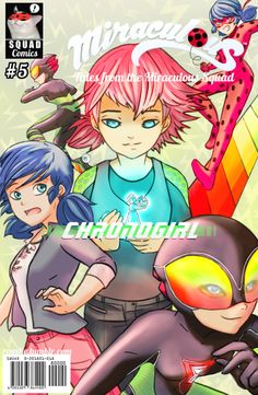 "royxhe: ""Squad Miraculous Cover Collab! I chose to draw the variant cover of the episode #5: Chronogirl / Timebreaker Soo thank you for the opportunity to be part of this collab! @powerdragonmoon and to the squad for the great project and..."