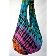ON SALE Neon Color Tie Dye Boho Hobo Crossbody Bag Spring Summer... ($9.99) ❤ liked on Polyvore featuring bags, hobo bags, hobo messenger bag, boho messenger bag, summer crossbody bags and cross body hobo bags