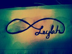 #tattoo idea for my daughter, leylah! :)
