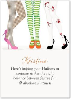 The Perfect Costume - Halloween Cards from Treat.com #trickorTREAT