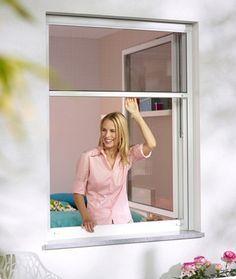 Moustiquaire fenêtre, moustiquaire enroulable sur mesure - Stores-Discount.com