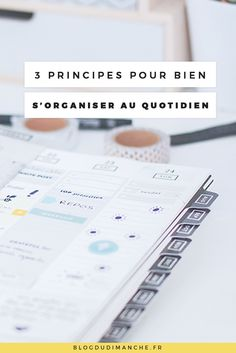 Comment je m'organise au quotidien - SANTE Organisation D'agenda, Organization Bullet Journal, Life Organization, Burn Out, School Planner, How To Get Followers, Study Tips, Filofax, Entrepreneur