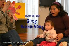 SoapBubbles are a very exciting toy for #babies! They Pop, they Shine, they can change color in the sun, they make your baby move! With this #song you and baby will have lots of good fun :)