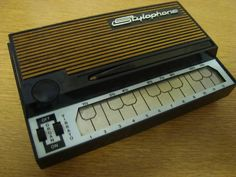 This is a toy from my childhood. I have rich memories of composing and playing music with this.