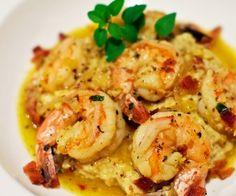 Lemon Garlic Shrimp with Cauliflower Mash Recipe | Paleo inspired, real food