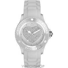 Small Ice-Watch Love - white sili small Watch LO.WE.S.S.12