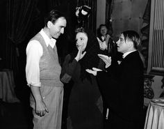 Busby Berkeley, Judy Garland & Mickey Rooney