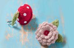 Knitting pattern: keyrings - Free knitting patterns