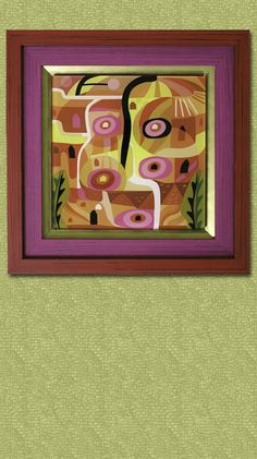 This maroon, purple and gold theme surrounding this beautiful piece of abstract art encapsulates it perfectly. 🖼 ---------  #custom #framing #artwork #frame #matting #painting Picture Frame Store, Wendy Davis, Old Photos, Custom Framing, Framed Art, Abstract Art, Original Art, Make It Yourself, Purple