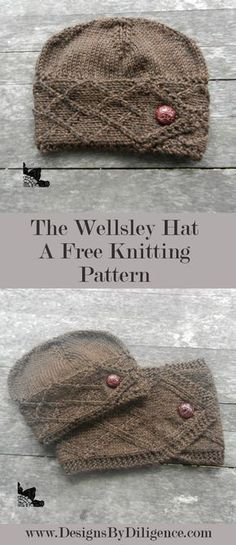 The Wellsley Cowl is the matching pattern of the Wellsley Hat. This is a free Knitting pattern using worsted weight yarn found on Designs by Diligence. Outlander Knitting Patterns, Knitting Patterns Free, Knitting Yarn, Knit Patterns, Free Knitting, Baby Knitting, Knitting Projects, Crochet Projects, Sewing Projects