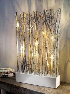 """LED-Zweige """"Natur"""""""