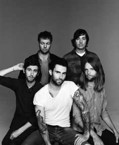 """Maroon 5 - """"I don't mind spending everyday out on your corner in the pouring rain.  Look for the girl with the broken smile,  ask her if she wants to stay awhile.  And she will be loved.  She will be loved."""""""