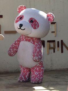 大丸・松坂屋 公式キャラクター「さくらパンダ」とよたまちパワーフェスタ2014 SPRING