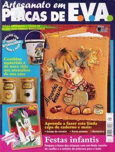 Artesanato com amor...by Lu Guimarães: Revista Artesanato em placas de EVA n 3…