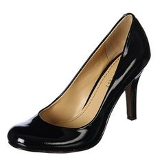 @Overstock - If shoes say a lot about you, these Nine West black pumps will let people know youre ambitious. Rounded toes, four-inch stiletto heels, and a glossy, leather exterior will prompt people to take you seriously. The footbed is padded for your comfort.http://www.overstock.com/Clothing-Shoes/Nine-West-Womens-Ambitious-Black-Patent-Pumps/5822346/product.html?CID=214117 $69.99