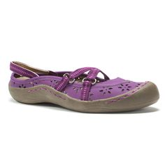 Shop for Muk Luks Women's Purple Erin Strap Shoes. Get free delivery at…