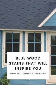 If you have been searching for blue wood stains or paints for your garden ideas or need some inspiration on garden room interiors, Protek Wood Stain has blue wood stains that will be perfect. Whether it's a wooden furniture update you are looking for, or an stand out garden feature, or a pretty planter you like, Protek Wood Stain has the perfect blue in order to achieve the effect you want. #protekwoodstain Blue Wood Stain, Wood Stain Colors, Furniture Update, Wood Oil, Garden Features, Wood Surface, Weathered Wood, Wooden Furniture, Room Interior