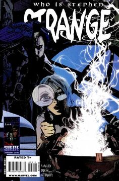 Strange Vol. 2 # 2 by Tomm Coker