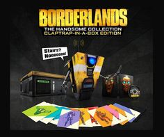 Special Edition Borderlands: The Handsome Collection Claptrap-In-A-Box Edition (RRP $400) - PS4 and Xbox One