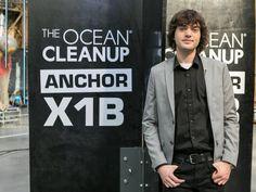 Boyan Slat Ocean Cleanup 22 Years Old, Year Old, Boyan Slat, Great Pacific Garbage Patch, Ocean Cleanup, Clean Ocean, Clean Up, Online Marketing, Bomber Jacket