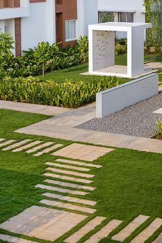Confluence Banquets and Resort | Chennai, India | ONE landscape #landscape #architecture #india #resort #chennai