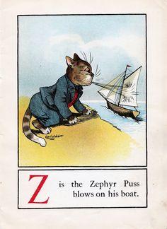 A CAT ALPHABET - Z