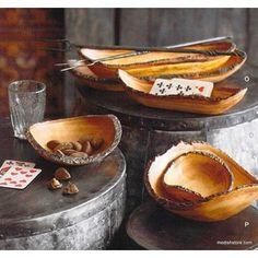 Roost Mango Bark Bowls