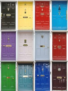 best color to paint a front door of brick house