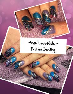 IntenZ Colours done on these Nails....