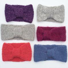 Frøkenpannebånd — STRIKKELISA Crochet Bikini, Bikinis, Swimwear, Blog, Fashion, Threading, Tutorials, Bathing Suits, Moda