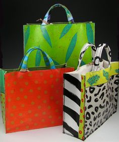 Mamie Joe - Handpainted Canvas Bags