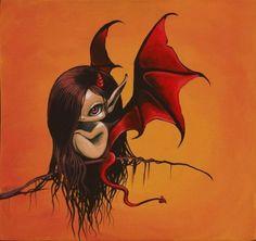 Art: Little Devil by Artist Nico Niemi