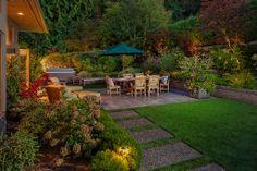 Could there be a more enchanting backyard? Medina, WA Coldwell Banker BAIN $3,580,000