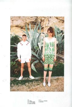 @You Must Create top for Toby and @Zoe Lee shoes for Antonia in the latest issue of @Tank magazine