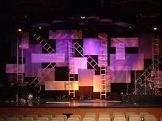 Image result for stage design cloth and metal