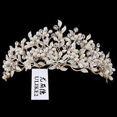 Ulike2 Wedding Bridal Crystal Rhinestone Tiara Flower Sty... https://www.amazon.com/dp/B01GJ2SIK6/ref=cm_sw_r_pi_dp_x_kHeeybPK3EQEA
