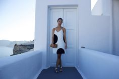 BORN AND BREAD: Polka Dot Pop {Outfit Post} #jcrew #greece