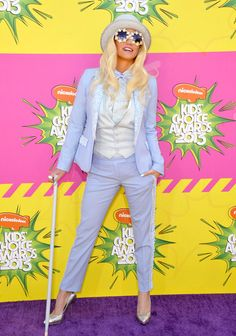 Ke$ha arriving at Nickelodeon's 26th Annual Kids' Choice Awards at the USC Galen Center in Los Angeles, California - March 23, 2013 - Photo: Runway Manhattan